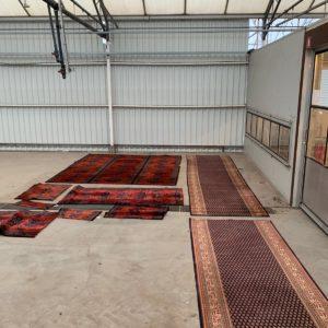 Perzisch tapijt kringloop